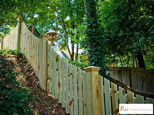 Building a Picket Fence on A Slope - by FenceWorkshop