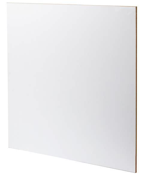 Finsa Melamine Faced MDF Sheet 1200 x 2440mm   White Matt