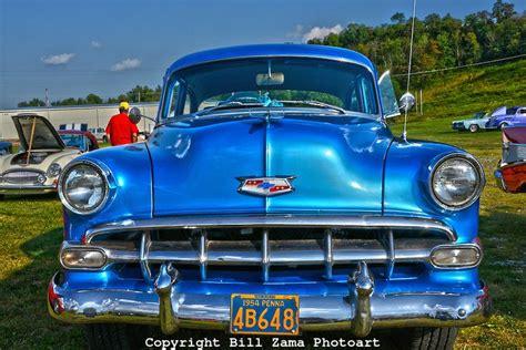 Nice 54 Chevy Bell Air At Custom Car Show At Mineral Beach