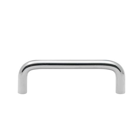Chrome Cupboard Handles by Prestige 64mm Satin Chrome D Shape Door Handle Interior