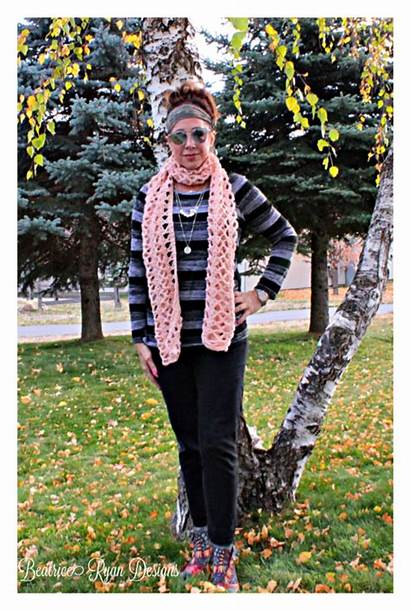 Crochet Lace Scarf Amazing Beatriceryandesigns Grace Pattern