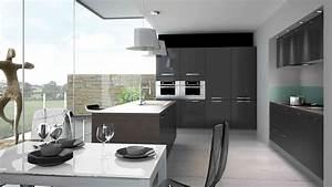 meuble de cuisine cuisinella mobilier design decoration With idee deco cuisine avec prix cuisine Équipée sur mesure