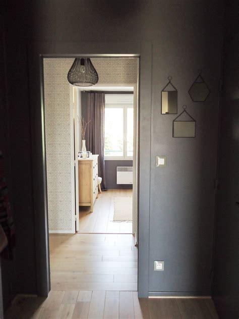 cauchemar cuisine une entrée et un couloir contrastés home by