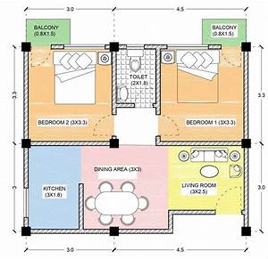 2bhk, Unit, Plan, Details, And, Views