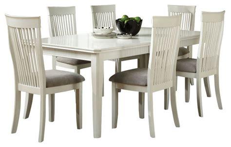 overstockcom white dining set standard furniture regency white 7 dining room set