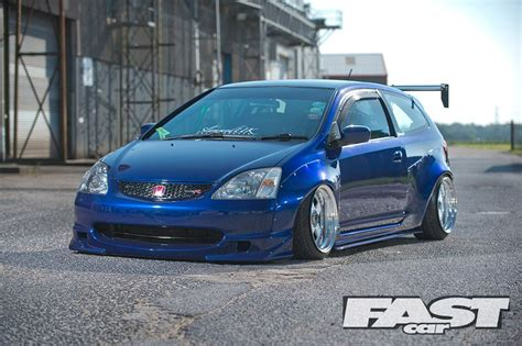 Modified Civic Type R Ep3 by Modified Honda Civic Ep3 Karl Green Hatch Civic Honda