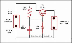 Wireless Mobile Charger Simple Circuit Diagram