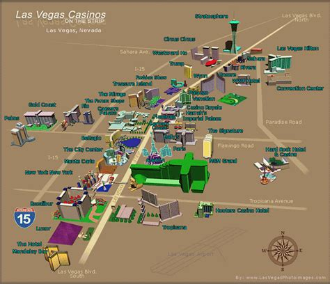 map  las vegas casinos vegas strip map