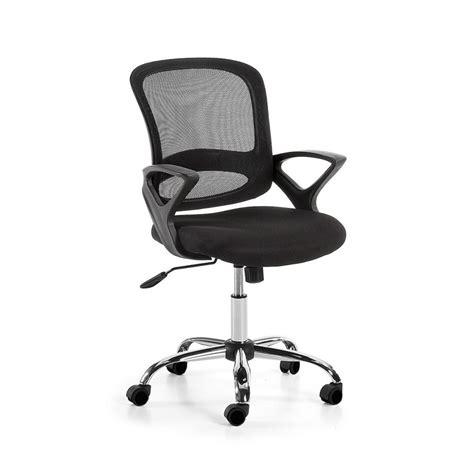 chaise de bureau à roulettes chaise de bureau pivotante et 224 roulettes tangier par