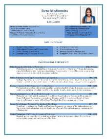 simple and easy resume formats free resume formats sle resume format resume templates resumewritingexperts in