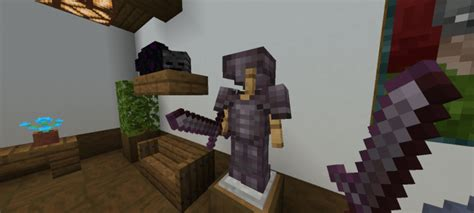 New Netherite Tools And Armor Textures Minecraft Pe