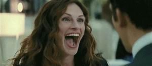 Julia Roberts L... Laughing Gif