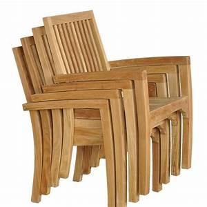 Chaise De Jardin En Bois : fauteuil de jardin en bois de teck midland bois dessus bois dessous ~ Teatrodelosmanantiales.com Idées de Décoration