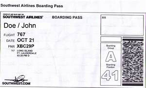 Airline Ticket Invitation Template Free - Life Style By ...