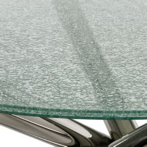 mm cracked ice glass table tops mm clear