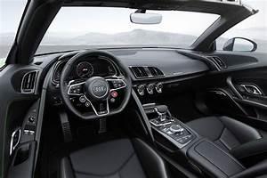 2018 Audi R8 Spyder V10 Plus Revealed in Germany