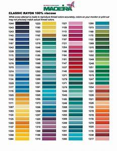 Madeira Thread Conversion Chart Bing Madeira Thread