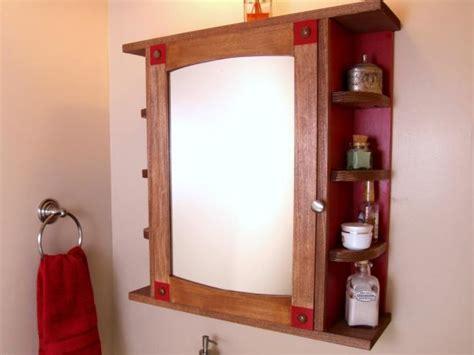 build  bathroom medicine cabinet  tos diy