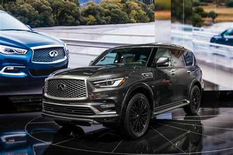 INFINITI 2019 : 2019 Infiniti Qx80 And Qx60 Get Added Luxury With Limited Trim