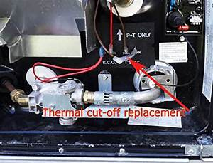 Rv Water Heater Thermal Cut Off Switch Kit Replace For