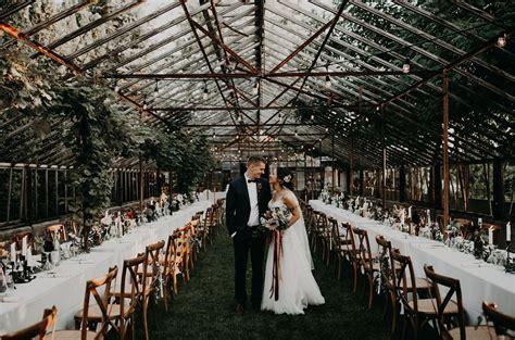 Diy Rustic + Romantic Backyard Wedding In A Greenhouse