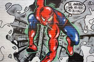 Spider Man Advice via Street Art