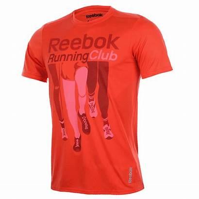 Rojo Camiseta Tc Ss Tee Reebok Vermelho