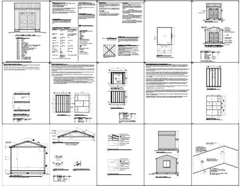 10x14 Shed Plans Pdf by Diy 10x14 Shed Plans Details Nanda