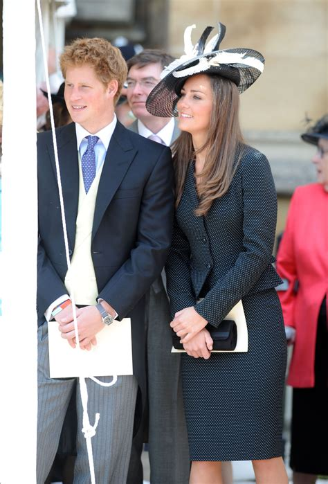 harry kate prince middleton william laws girlfriend windsor supportive garter duchess cambridge sheknows royal 2008 cutest times were