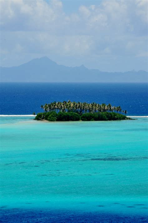 Raiatea French Polynesia The Brilliant Lagoon Of