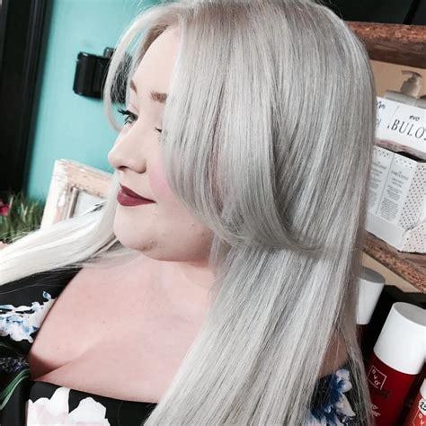 Silver Hair Colours Nottingham Loughborough Hair Salons