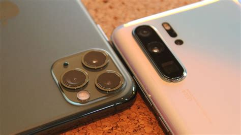 huawei p pro  iphone  pro max camera review