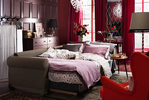 Living Room Ideas Ikea 2015 by A Bed Living Room Perfectly Blended For Modern