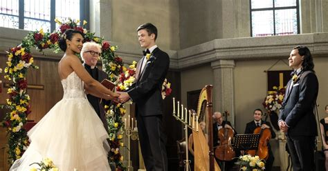 barry iris wedding   flash   happening