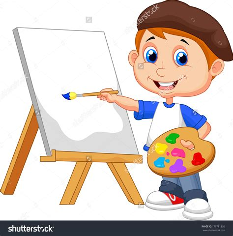artists clipart artist paintings