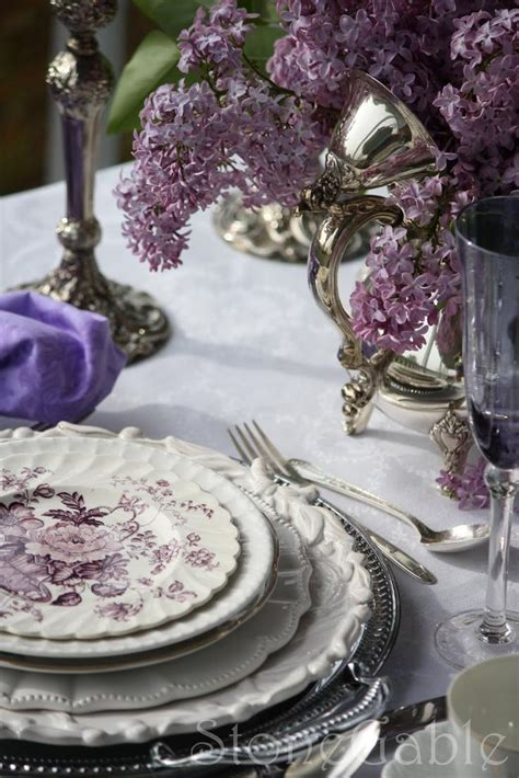 Tablescapes  Purple And Lilac Table #2032485  Weddbook. Modern Kitchen Dining Room. Pull Out Kitchen Storage Units. Kitchen Caddy Storage. Kitchen Hardware Accessories India. Designer Kitchen Storage Containers. Kitchen Accessories Names With Pictures. Modern House Kitchen. Beige Kitchen Accessories