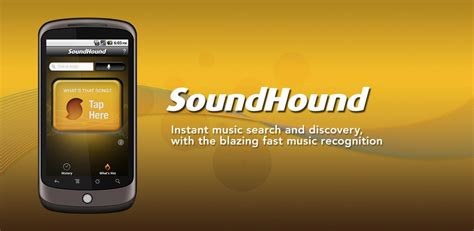 soundhound android 10 best free audio android apps