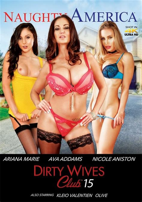 Dirty Wives Club Vol 15 2018 Adult Dvd Empire