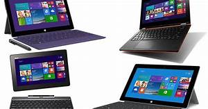 Best Hybrid Tablet Laptops On The Uk Market For December 2013