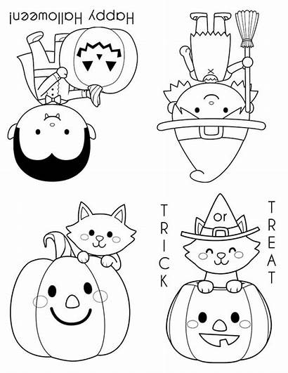 Halloween Coloring Pages Mini Books Printable Career
