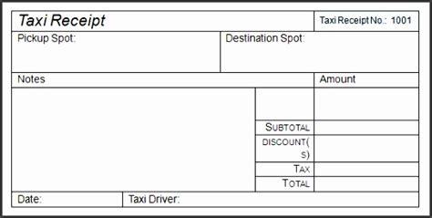 editable taxi receipt sampletemplatess sampletemplatess