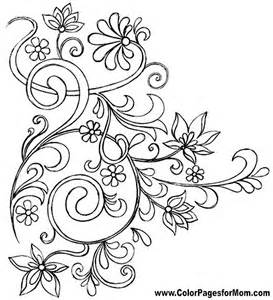 Advanced Coloring Pages Flowers
