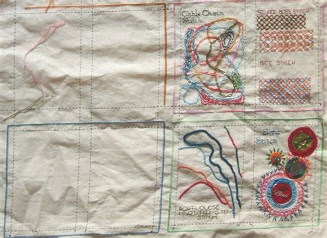 sample stitch book easy craft ideas
