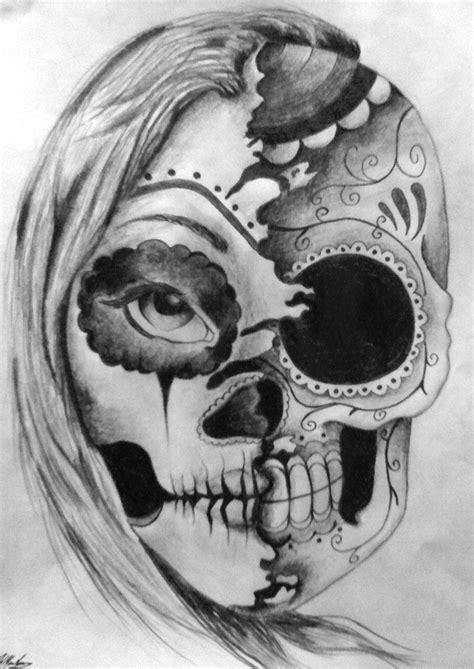 SUGAR SKULL TATTOO - Google Search | Como desenhar crânios