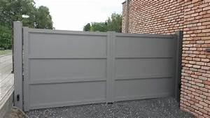 Portail En Aluminium : flandres portail aluminium europortail ~ Melissatoandfro.com Idées de Décoration