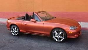 Sell Used Lava Orange 2005 Mazda Mazdaspeed Miata Mx