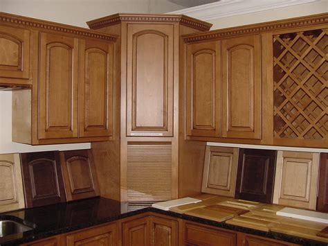 Curved White Wooden Kitchen Corner Pantry Cabinet Combined