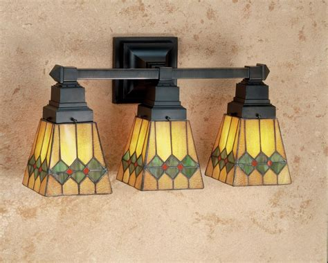 Stained Glass Bathroom Light Fixtures by Meyda 48034 Glass Stained Glass