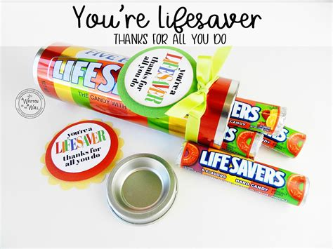 You're A Lifesaver—thanks For