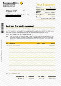 Sample Documents Australia Anz Bank Of The West Citi